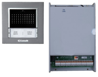 Wiring Diagram Access Control Panel : Intercoms and access control for electric gates and automation kits
