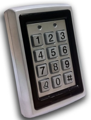 Keypad Proximity Reader Dg 500 C For Doors And Electric Gates