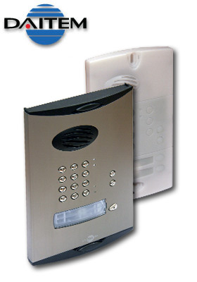 Daitem Wireless Intercom For Electric Gates With Access Keypad